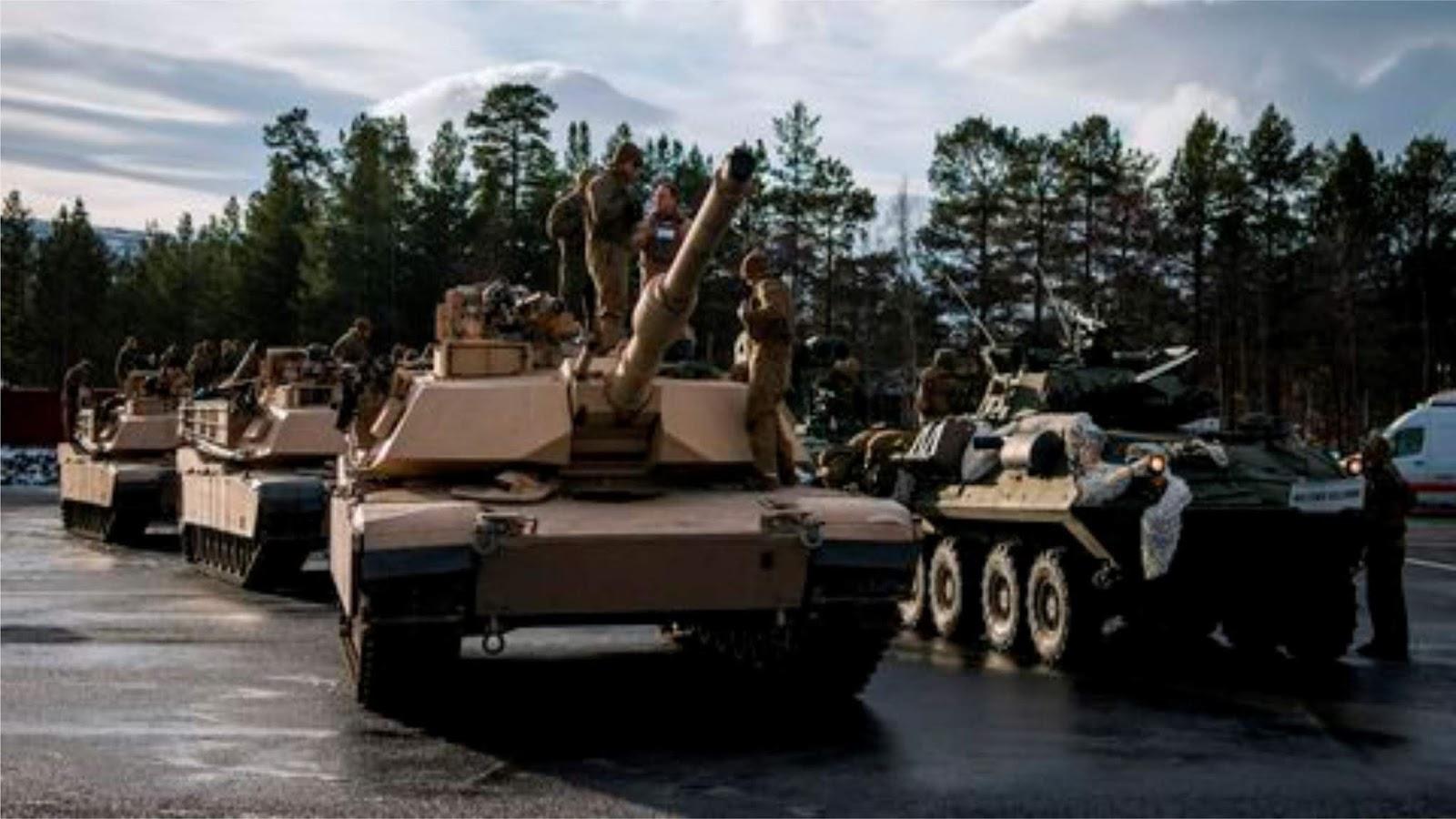 Penduduk Norwegia mengeluhkan pasukan NATO bab ditempat umum saat manuver Trident Juncture 2018