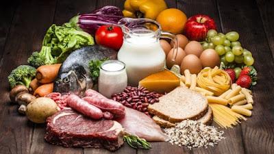 Diferenciar los términos alimentarios