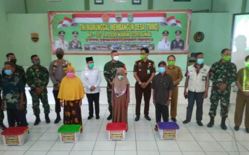 TMDD 2020 di Dumai Resmi Di Tutup Komandan Satgas Letkol Irdhan