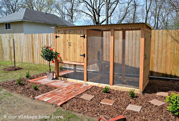 vintage home love coop chicken ideas
