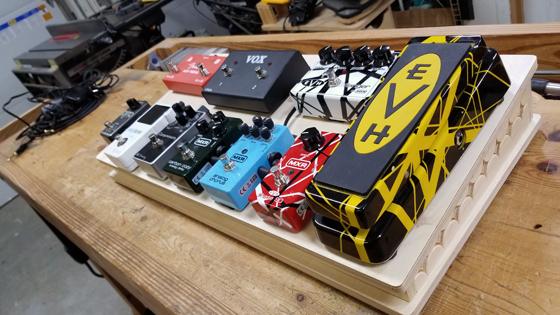 CNC Pedal Board