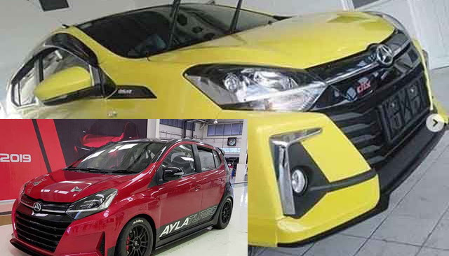 Mirip Versi Turbo yang Pernah Ada, Ini Tampilan Baru Daihatsu New Ayla 2020