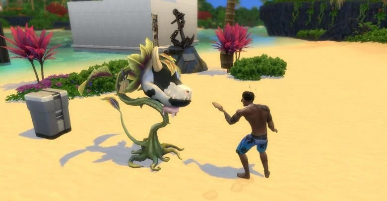 How to have the Cow Plant in The Sims 4
