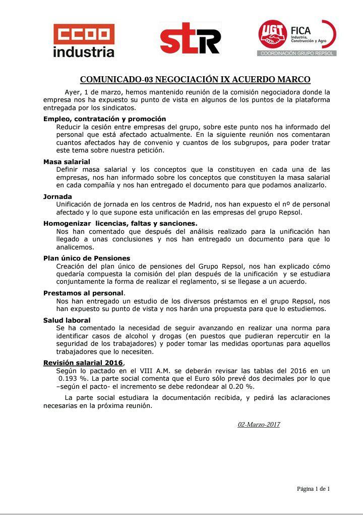 CAMPSARED BLOG: MARZO-ABRIL 2017, Comentarios