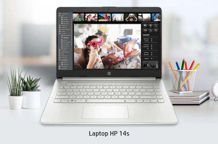 Harga dan Spesifikasi HP 14s FQ0021AU, Laptop Murah Ringan dengan Bobot 1,47Kg