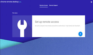 Chrome Remote Desktop aplikasi yang digunakan untuk remote pc kamu saat bekerja remote dari rumah