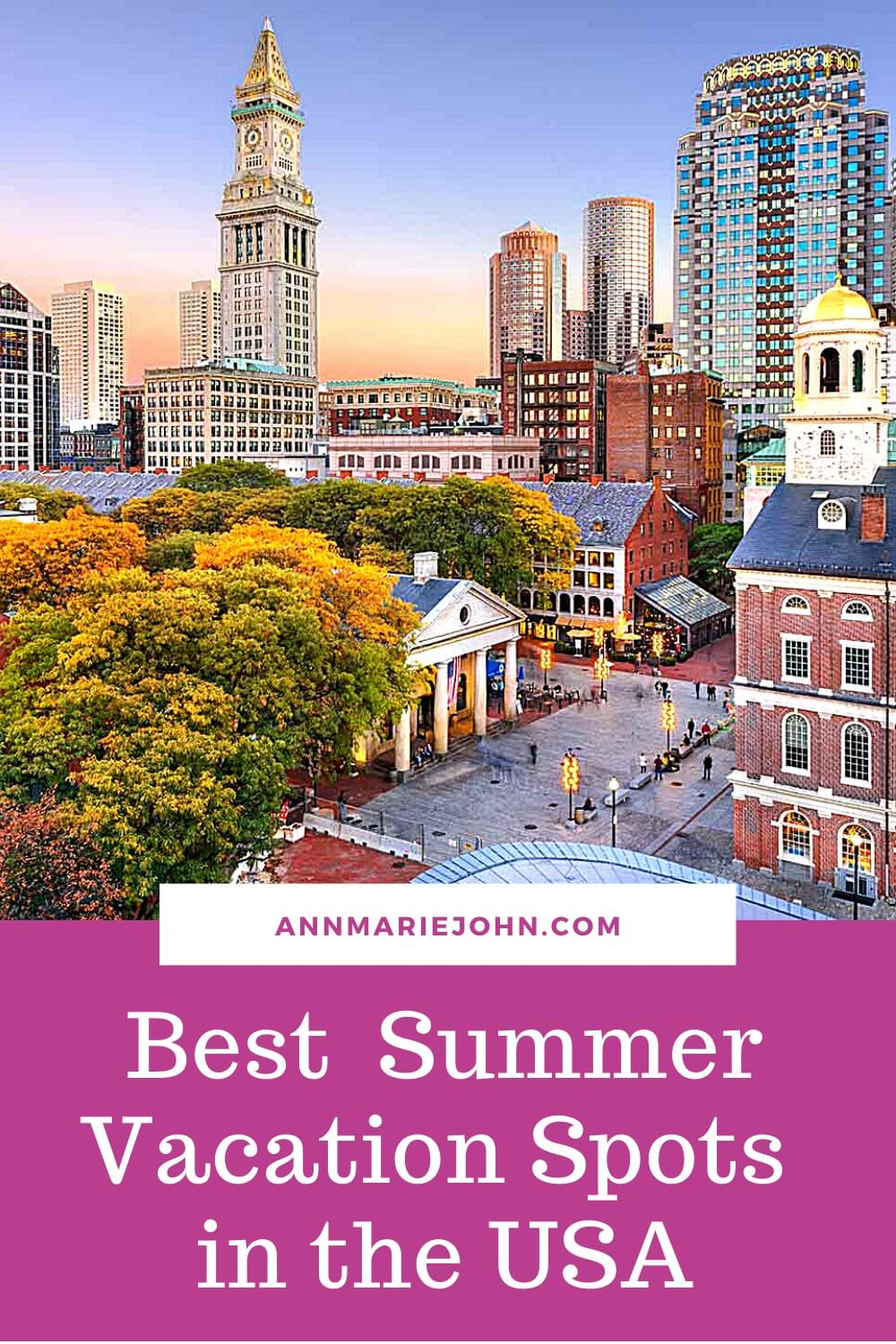 Best U.S. Spots for a Summer Vacation