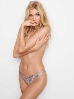 Hot model Elsa Hosk Victoria's Secret Lingerie photoshoot September 2017