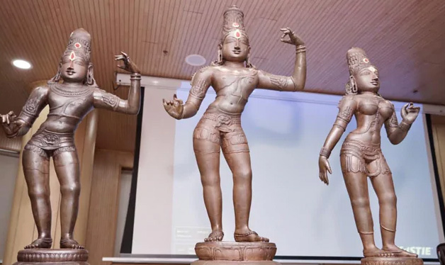 Chennai, News, National, Temple, Robbery, Ancient Tamil Nadu Temple Gets Back Its Idols Stolen 42 Years Ago