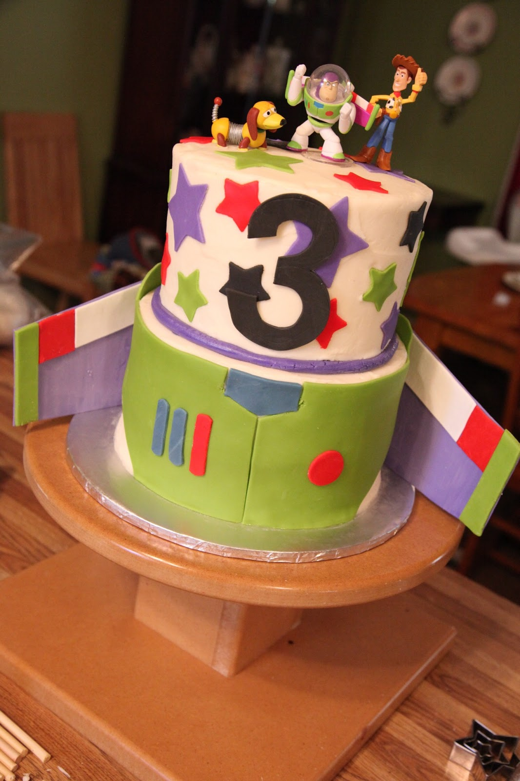 Toy Story Birthday Cake For A 3 Year Old Little Boy