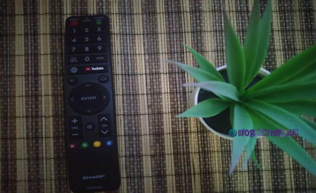 Remote Smart TV Sharp AQUOS