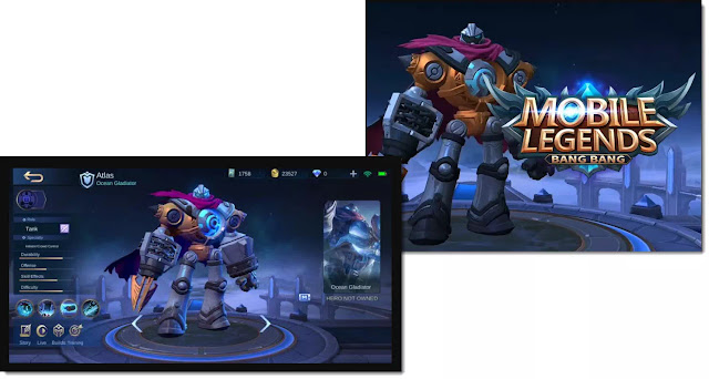 Not long ago Moonton has presented a new hero in advance of MOBA Mobile Legends server, Atlas. The Atlas Hero is known to have the shape of an octopus wearing hero armor. Recently the gameplay of the Atlas hero has been widely circulated on the internet. It appears that the Atlas hero who has the role tank has the main ability that can attract five enemy heroes at once at the same time.