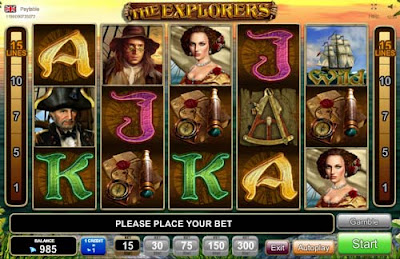 play the explorers free slot