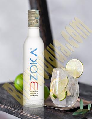 Chai rượu Vodka Premium 3zoka