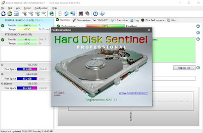Download HDD Sentinel 5.50 Pro Terbaru Full Version Crack Patch