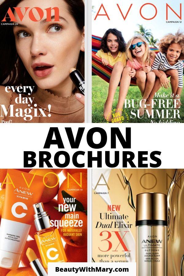 Avon Brochures 2019