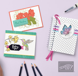 Stampin' Up! Sale-a-Bration Touch of Ink Card #stampinup #saleabration #sab2021