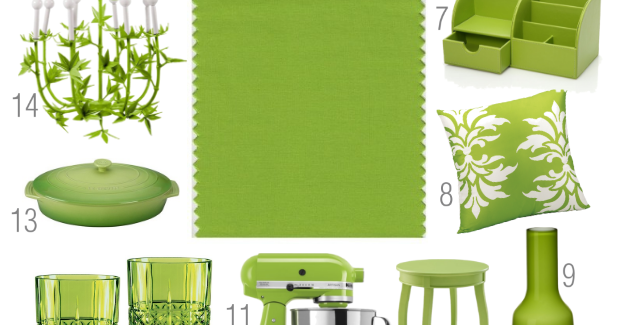 """The Lovely Side: Ideas for decorating with """"Greenery ..."""