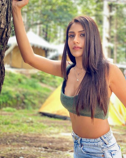 Actress Surbhi Chandna Latest Instagram Photos Navel Queens