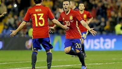 مشاهدة مباراة جزر فاروه Vs اسبانيا بث مباشر اليوم الجمعة 07/06/2019 التصفيات المؤهلة ليورو 2020