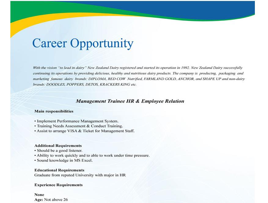 Marketing jobs in new zealand