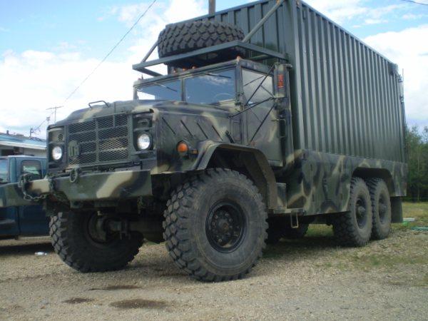 Military Vehicles For Sale Canada >> Cariboo 6x6 Trucks