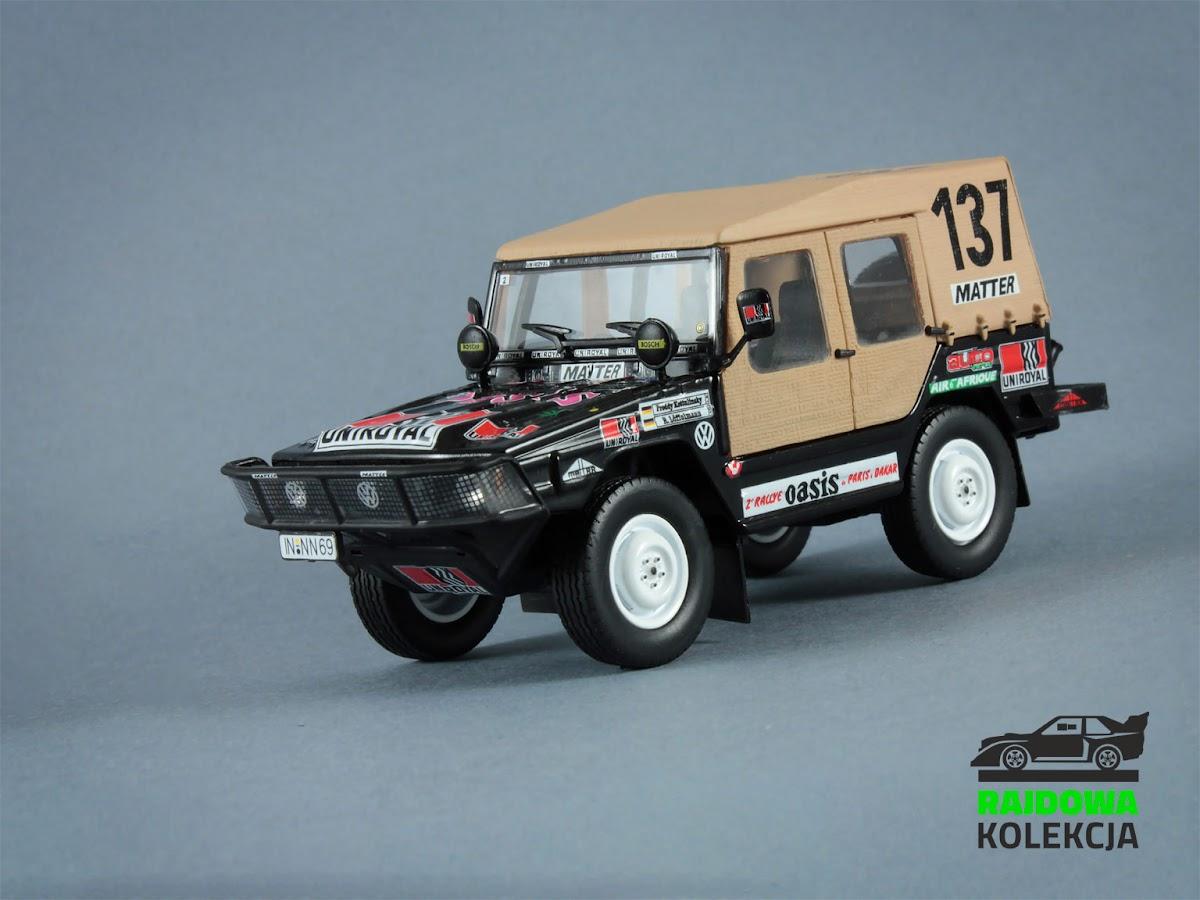 Norev VW Typ 183 Race Iltis Paris-Dakar 1980