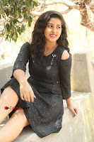 Telugu Actress Pavani Latest Pos in Black Short Dress at Smile Pictures Production No 1 Movie Opening  0115.JPG