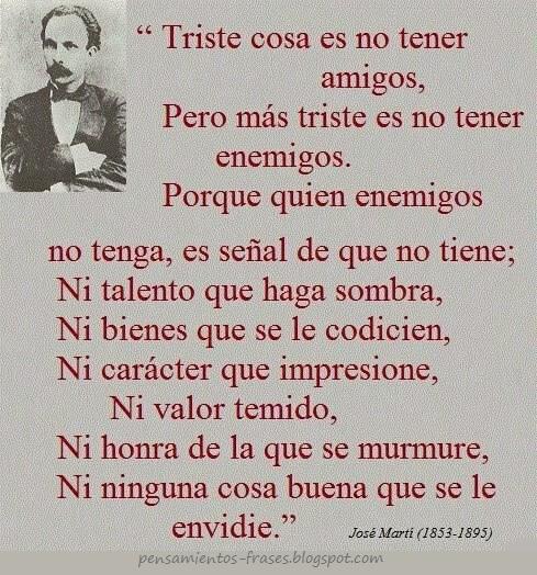 frases de José Martí