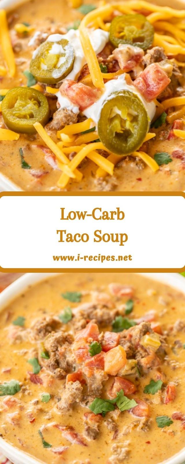 Low-Carb Taco Soup