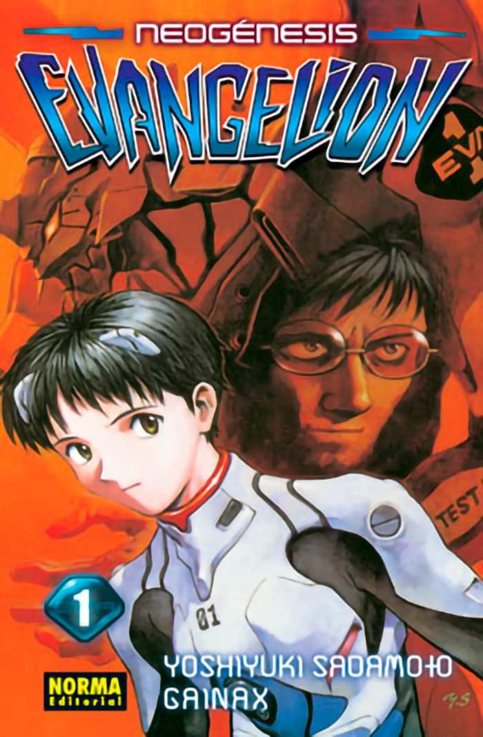 Neon Genesis Evangelion manga - Norma Editorial