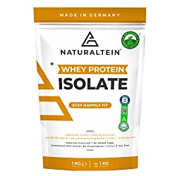 NATURALTEIN 100% Natural Whey Protein Isolate