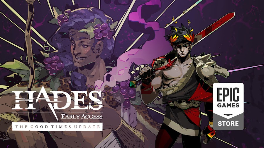 hades good times update live supergiant games early access epic store dionysus
