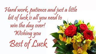 All The Best Wishes, Messages and Good Luck