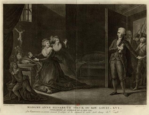 Rodama: a blog of 18th century & Revolutionary French trivia: The last days  of Madame Élisabeth