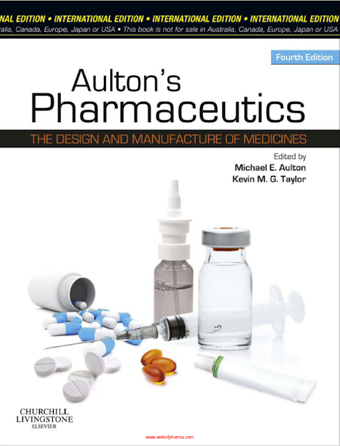 Aulton's Pharmaceutics The Design and Manufacture of Medicines pdf free download