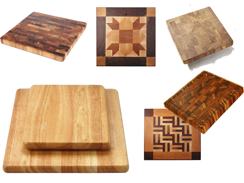 thớt gỗ vuông