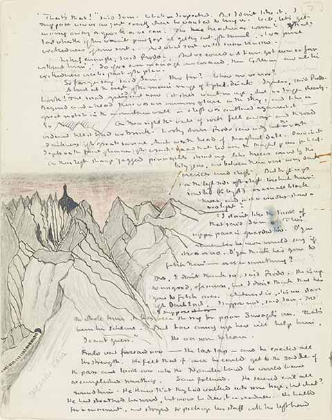 Texte et dessin de J.R.R Tolkien