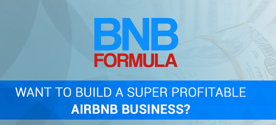 BNB Formula is completed 8-week interactive training course teaching you how to build a profitable Airbnb business.