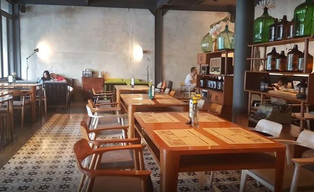 10 Foto Tempat Nongkrong di Cafe Two Stories Bogor