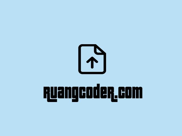 Cara Membuat Upload File Dengan PHP dan MySQL