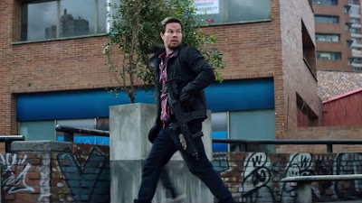 Mark Wahlberg Mile 22 2018 new pics