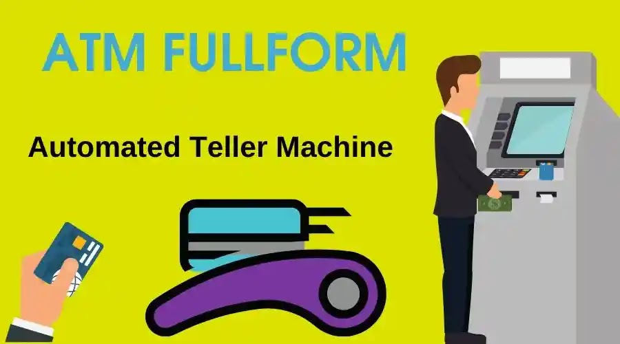 ATM Full Form - Automated Teller Machine - Full Form Of ATM