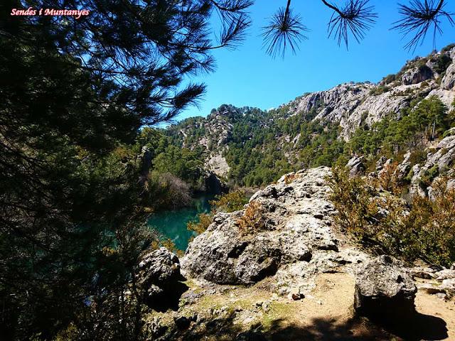 Vista Laguna negra, Nacimiento río Borosa, Pontones, Sierra de Cazorla, Jaén, Andalucía