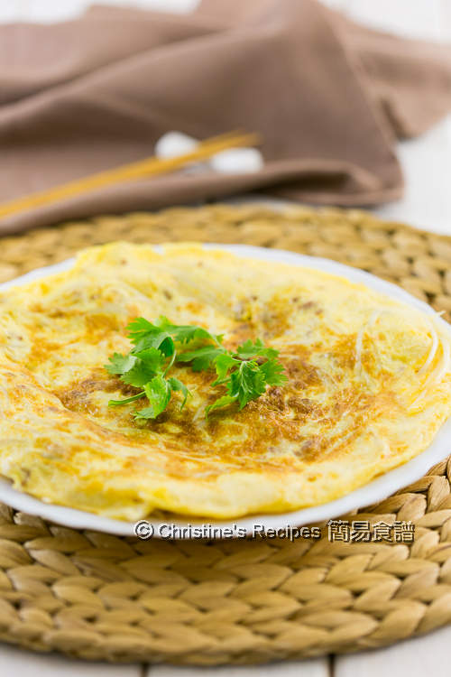 銀芽肉碎煎蛋 Pork & Bean Sprout Omelette01