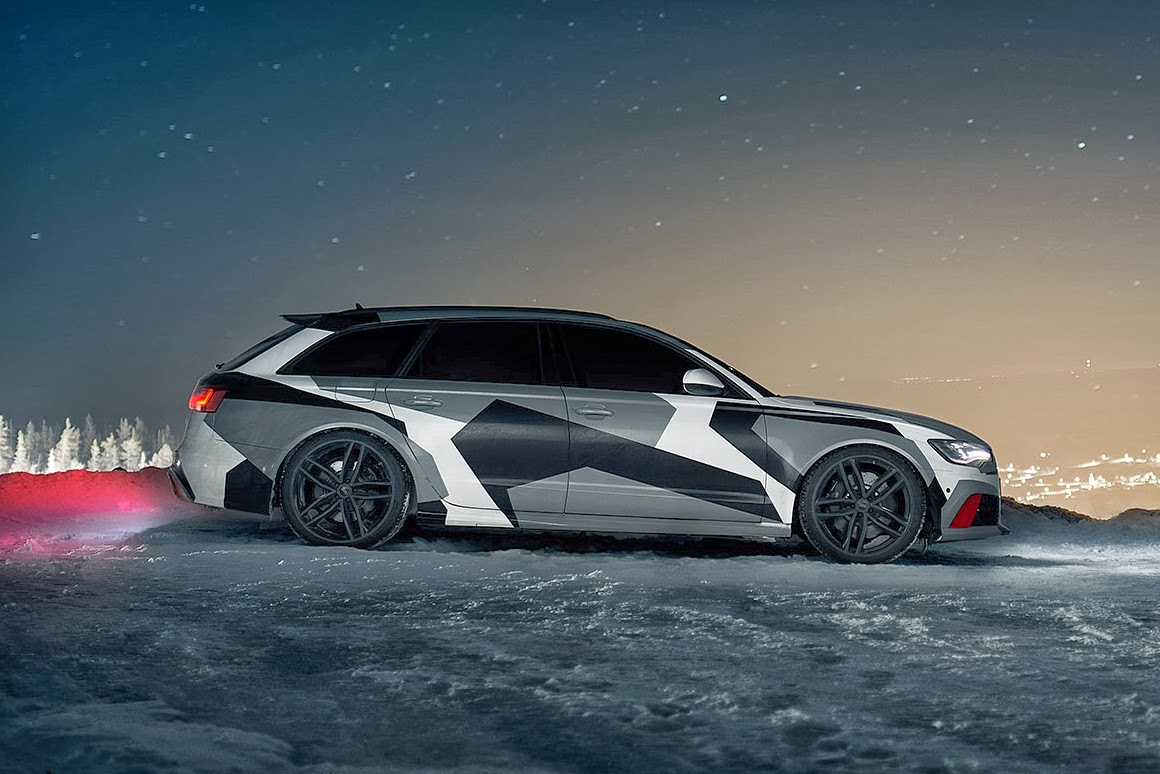 Julius Audi Rs6 2014 Snowmobile By Jon Olsson Zoomed Photos