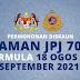 Permohonan Diskaun Saman JPJ 70% Bermula Dari 18 Ogos -16 September 2021