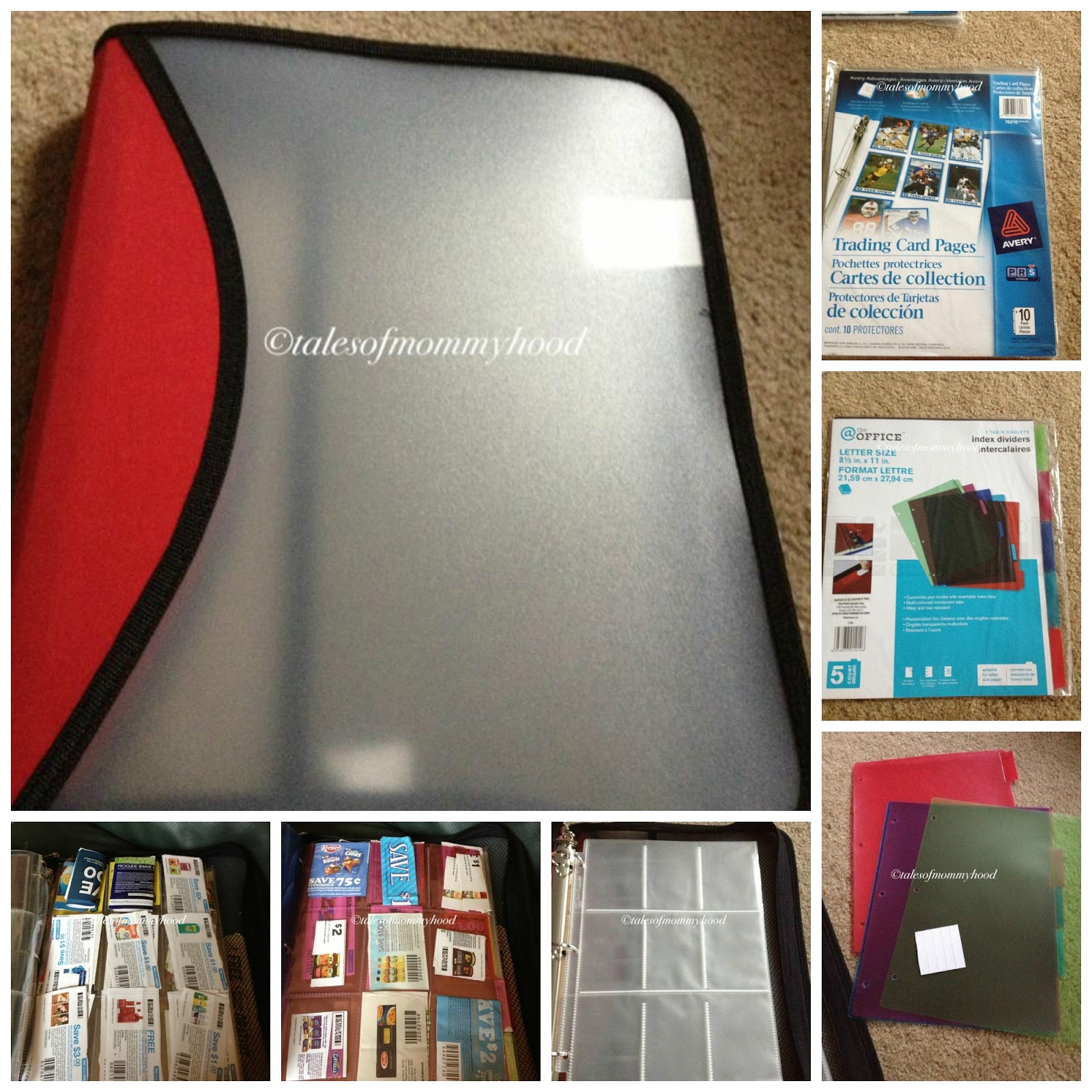 Tales Of Mommyhood: How To Make A Coupon Binder