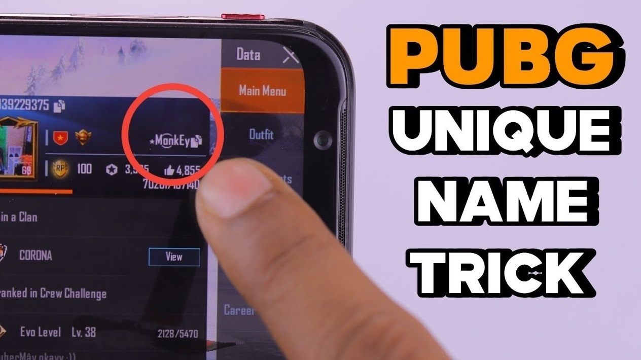 PUBG Mobile: How to get a unique name for your account