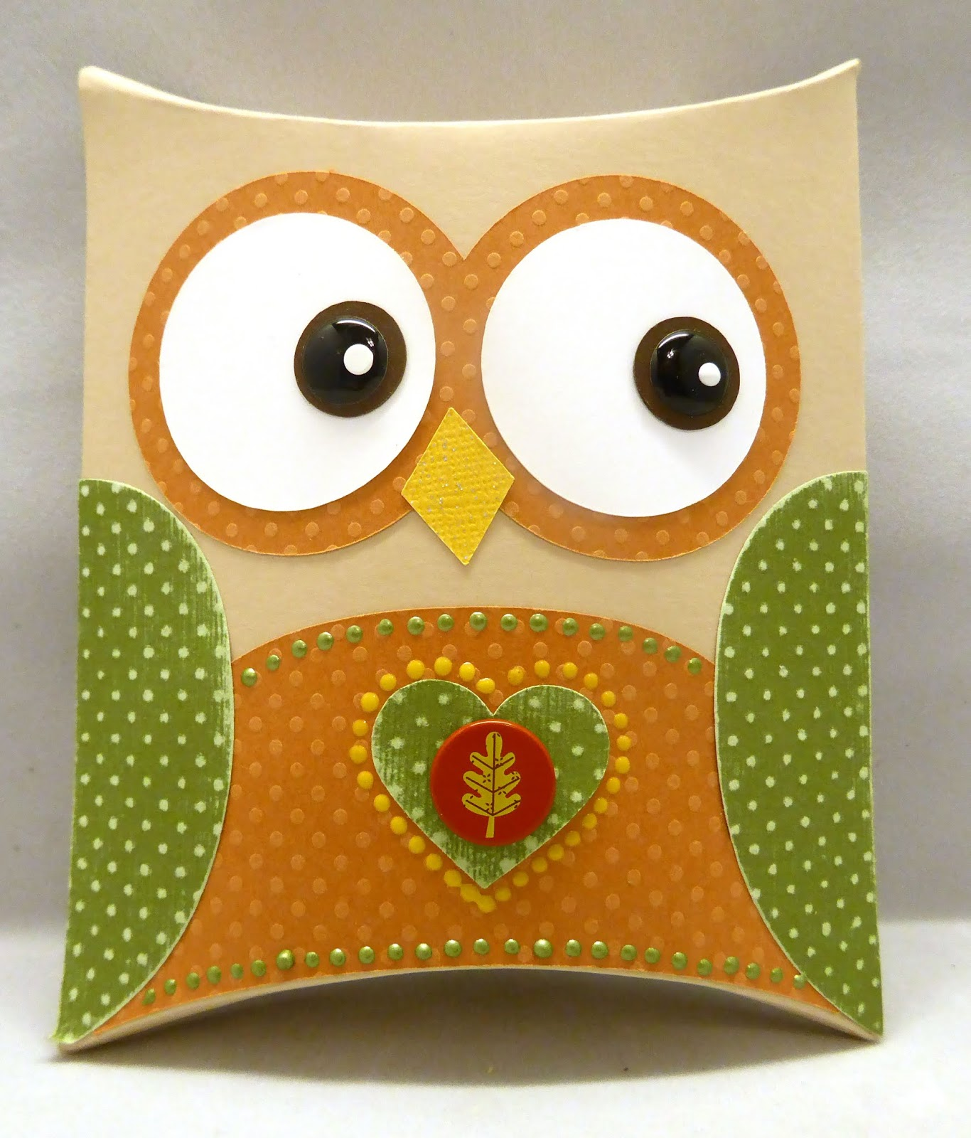 Pink Panoply Owl Treat Box